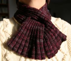 Next Project:  This Knit Keyhole Scarf
