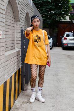 Street Style Kim Jungeun, Seoul