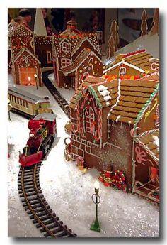 Gingerbread Village at Crown Center - Kansas City 2006 - Ellen Tully