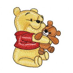 Baby Pooh 1 machine embroidery design