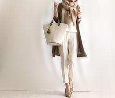 【coordinate】ストレッチ抜群の1,490円のGUきれいめパンツコーデ の画像|Umy's プチプラmixで大人のキレイめファッション