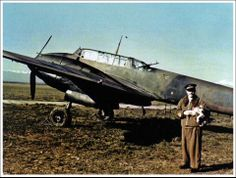 Capt. Aramis Ammannato posing behind a Messerschmitt Bf. 110 C-3 of the 235th Squadron. Spring 1943. Capt. Ammannato shot down the sole allied bomber claimed by the Italian night fighters the last days before the armistice, pin by Paolo Marzioli
