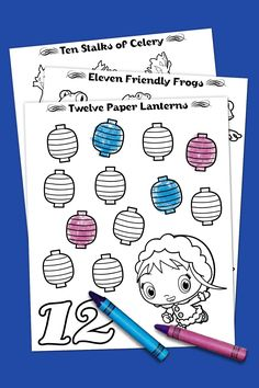 12 Days of Christmas Nick Jr. Coloring Pack
