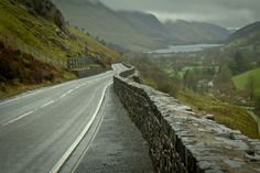 FRAME SIX The road to Snowdonia. A photo showing the by 10frame