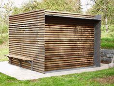 Magnifique carport en bois en ext rieur abri auto for Garten gerateschuppen