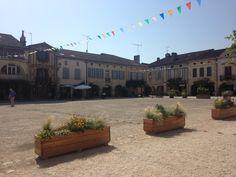 Grand soleil sur Labastide d'Armagnac #labastide #armagnac #landes #sunny #summer