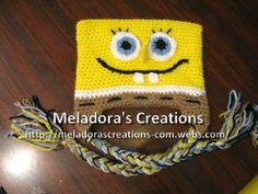 Bob the Sponge Beanie - Meladora's Creations Free Crochet Patterns & Tutorials
