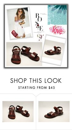 """""""Holysouq"""" by elma-993 ❤ liked on Polyvore featuring Jerusalem Sandals and holysouq"""