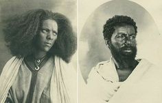 Vintage portraits taken of people in Eritrea in the 1930′s, the photographer is unknown