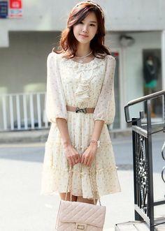 Black Round Neck Sleeveless Korean Summer Fashionable Mini Flared ...