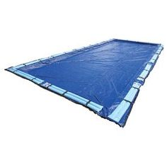 Blue Wave 49-Ft X 25-Ft Gold Polyethylene Winter Pool Cover Bwc966