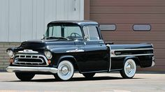 1957 Chevrolet Cameo Pickup presented as lot S150 at Houston, TX