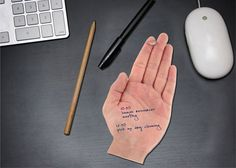 Talk To The Hand Sticky Notes by John Nouanesing