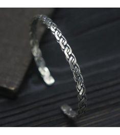Sterling Silver Staggered Weave Cuff Bracelet 3c282da63090