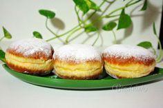 Babkine šišky • bonvivani.sk Baking Recipes, Donuts, Food To Make, Good Food, Bread, Cooking, Breakfast, Sweet, Blessed