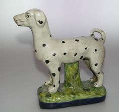 Antique Staffordshire Dog Figurine | eBay