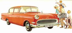 The German Opel, imported into the United States in the 1960s by GM and sold at Buick dealerships.