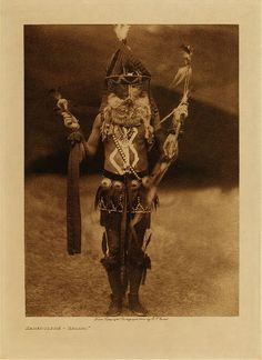 Library of Congress: Edward S Curtis Collection Zahadolzha - Navaho