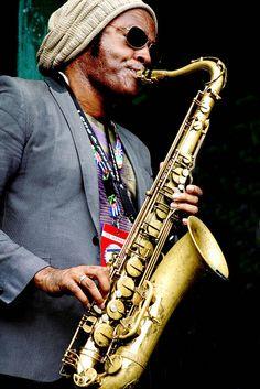 Jazzman ... 2010 Beaches Jazz Festival #jazz #sax #music
