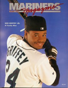 Ken Griffey Jr., #Mariners Magazine (1994)