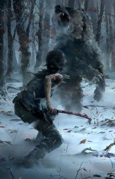forevertombraider:  Concept Art: Rise of the Tomb Raider