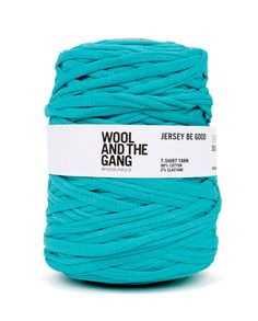 Jersey Be Good // Treat that environmentally conscious crafter to this Jersey Be Good yarn from Wool and the Gang. Made from fabric roll cut-offs from Turkish factories, these colourful rolls are easy to knit and super cosy.
