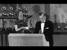"Hugh Griffith winning Best Supporting Actor for ""Ben-Hur"" Katherine Caine misses having a date for the movies and was sad to miss #BenHur #HughGriffith #OliviadeHaviland #Oscars #KrushchevJoke"