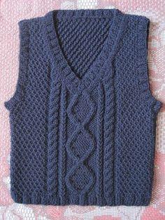 Super FAST & Easy 2 Hour Slippers - How to Crochet Slippers Step by Step Crochet Pattern - Pixalated Crochet Knitting Patterns Boys, Knitting For Kids, Knitting Designs, Baby Boy Sweater, Knit Baby Sweaters, Crochet Baby Clothes Boy, Gents Sweater, Step By Step Crochet, Vest Pattern