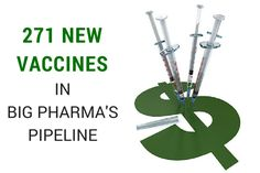 As of 2013, Big Pharma has had plans for the development of 271 new vaccines covering an array of diseases. Into Whose Bodies Will They be Injected?