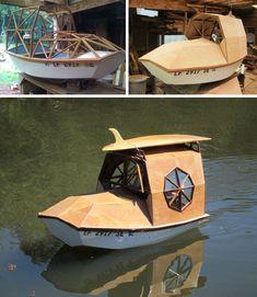 camper mini cruise boat