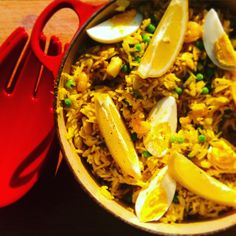 Pirate rice. Kedgeree Fast And Furious, Paella, Family Meals, Rice, Ethnic Recipes, Food, Essen, Meals, Yemek