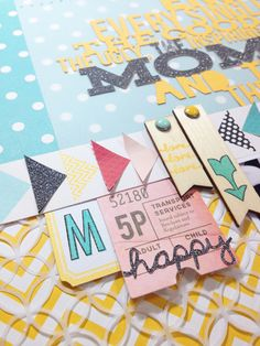 Robyn Werlich, studio calico, and silhouette page love Studio Calico, Wax Paper, Project Life, Overlays, Embellishments, Scrapbooking, Paper Crafts, Love, Triangles