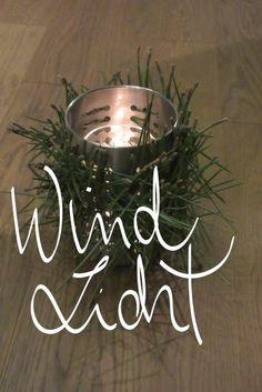 Ein winterliches Windlicht mit IKEA Abtropfsieb. DIY