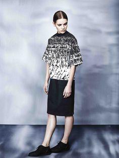 Blankblank's White Fields T-shirt Dress