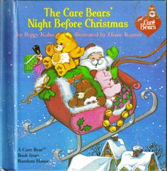 Vintage  The Care Bears' Night Before Christmas by ShopHereVintage, $8.00