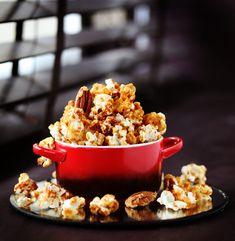 POP-CORN aux noix CARAMEL, sirop d'érable et fleur de sel | Max L'affamé