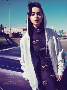 visual optimism; fashion editorials, shows, campaigns & more!: out of this world: emilia clarke by sofia sanchez & mauro mongiello for uk instyle april 2014