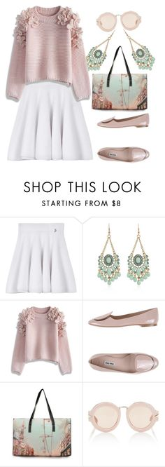 """Sunday Morning"" by sandra-moreno-2 on Polyvore featuring Kenzo, Chicwish, Miu Miu, Karen Walker, women's clothing, women's fashion, women, female, woman and misses"