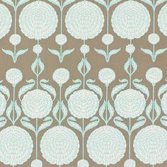 Free Spirit – Chrysantemum 4 - Cotton - medium brown