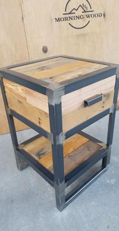 Like These Industrial DecorIdeas? Visit Us For More Industrial Furniture Ideas Welded Furniture, Steel Furniture, Pallet Furniture, Furniture Projects, Furniture Design, Furniture Websites, Furniture Buyers, Pipe Furniture, Furniture Stores