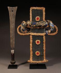 Grasslands Prestige Sword in Scabbard, Bamum, Bamileke, Tikar :: ERTribal The Prestige, Wood Sculpture, Tribal Art, Small Groups, Weapons, Captain Hat, African, Hats, Photography