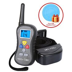 Special Offers - Noza Tec Upgraded Best Dog Training Shock Collar with Remote Wireless Rainproof Electric Beep Vibration Shock Collars with 1-click Handling 16 Levels Shock & Vibration E Collar for Dogs - In stock & Free Shipping. You can save more money! Check It (June 24 2016 at 11:48PM)…