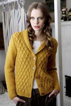 Naisen neuletakki Novita Isoveli   Novita knits