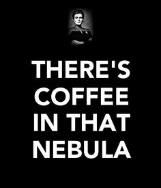 Captain Kathryn Janeway and her Coffee