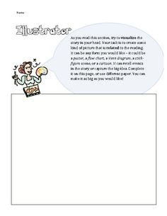 Literature Circle Booklets:This literature circle booklet includes 5 roles (worksheets that encourage discussion and collaboration): Discussion...