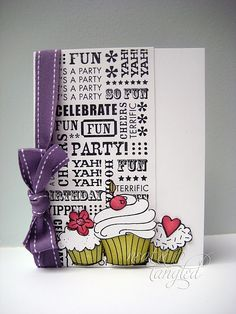 Cute with HA cupcakes.  Would this work with my HA background stamp?