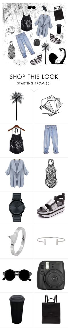 """""""Forever young!"""" by fawn-fleur ❤ liked on Polyvore featuring Levi's, Seafolly, Movado, DKNY, Edge Only, Humble Chic, Retrò, Building Block and Color Me"""