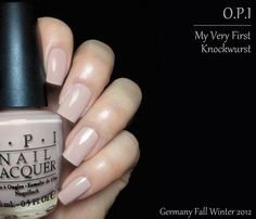 Opi Germany collection for Fall Winter 2012 : Part 1