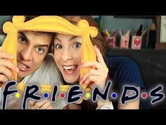 Como fazer a moldura de Friends!!! EU QUEROOOO!!! *-*