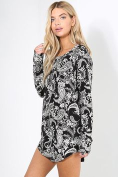 2af5d616bb651 Womens Ladies Curved Hem Printed Tartan Army Floral Leopard Long Sleeve  Dress